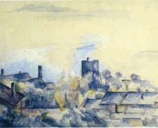 Roofs in L'Estaque — Поль Сезанн