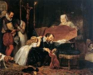 Рубенс оплакивает жену — Антонис ван Дейк