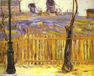 Rue Caulaincourt. Mills on Montmarte — Поль Синьяк