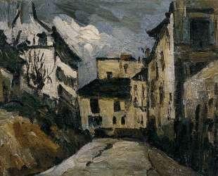 Rue des Saules. Montmartre — Поль Сезанн