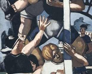 Rugby players — Макс Бекман