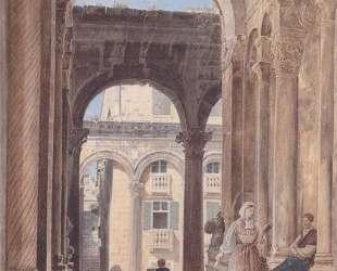 Ruins of Diocletian at Spalato — Рудольф фон Альт