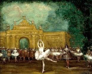 "Russian ballet (Pavlova and Nijinsky in ""Pavillon d'Armide"") — Сергей Судейкин"
