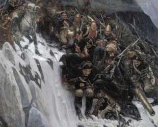 Russian Troops under Suvorov Crossing the Alps — Василий Суриков