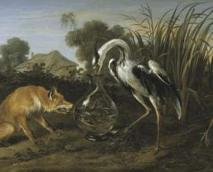 Sable of the Fox and the Heron — Франс Снейдерс