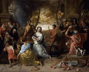 Sacrifice of Iphigenia — Ян Стен