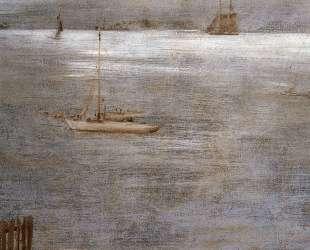 Sailboat at Anchor — Уильям Меррит Чейз