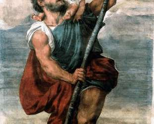 Saint Christopher — Тициан