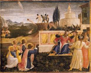 Святые Косма и Дамиан спасены — Фра Анджелико