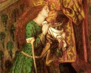 Saint George and the Princess Sabra — Данте Габриэль Россетти