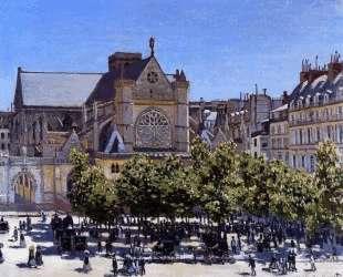 Сен-Жермен-л'Осерруа — Клод Моне