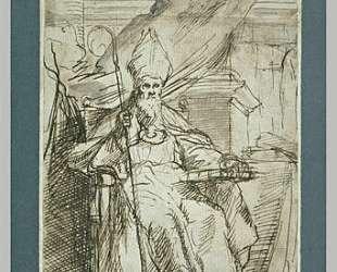Saint Isidore — Бартоломе Эстебан Мурильо