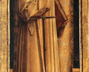 Saint James of the Marches with two kneeling donor — Карло Кривелли