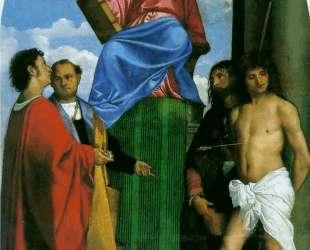 Saint Mark Enthroned — Тициан