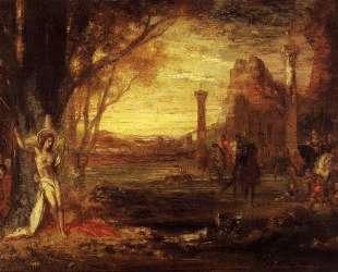 Saint Sebastian and His Executioners — Гюстав Моро