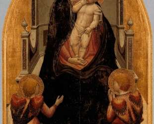 San Giovenale Triptych. Central panel — Мазаччо