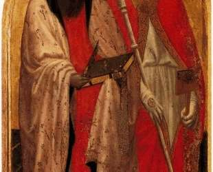 San Giovenale Triptych. Left panel — Мазаччо