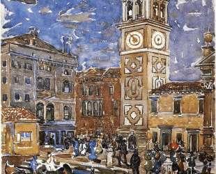 SanMaria Formosa, Venice — Морис Прендергаст