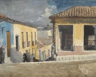 Santiago de Cuba, Street Scene — Уинслоу Хомер
