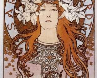 Sarah Bernhardt — Альфонс Муха