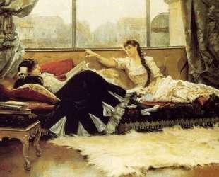 Sarah Bernhardt and Christine Nilsson — Юлиус Леблан Стюарт