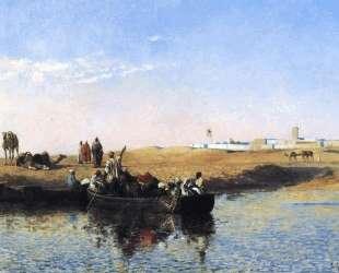 Scene at Sale, Morocco — Эдвин Лорд Уикс