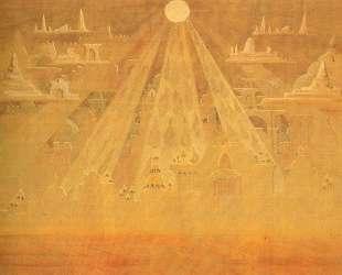 Скерцо (Соната пирамид) — Микалоюс Чюрлёнис