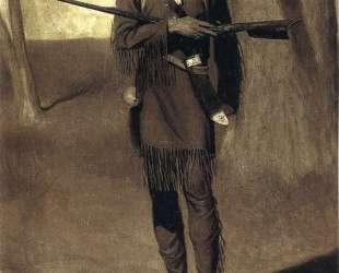 Scouting with Daniel Boone — Норман Роквелл