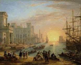 Seaport at Sunset — Клод Лоррен