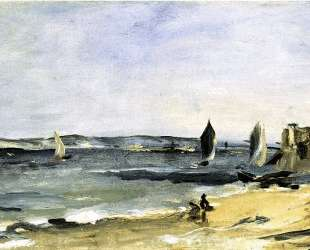 Seascape at Arcachon (Arcachon, beautiful weather) — Эдуард Мане