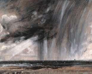 Морской пейзаж. Этюд с дождевыми облаками — Джон Констебл