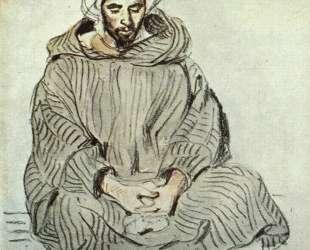 Сидящий араб в Танжере — Эжен Делакруа