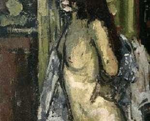 Seated Nude, Paris — Уолтер Сикерт