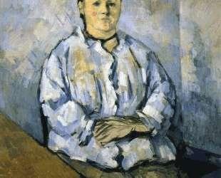 Seated Woman — Поль Сезанн