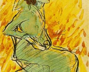 Seated woman in green — Пабло Пикассо