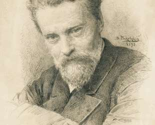Self portrait — Владимир Маковский