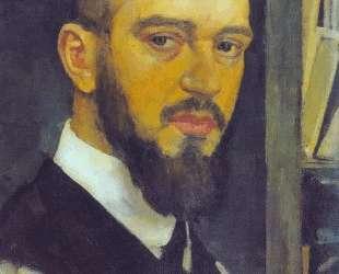 Self-portrait — Эмиль Нольде
