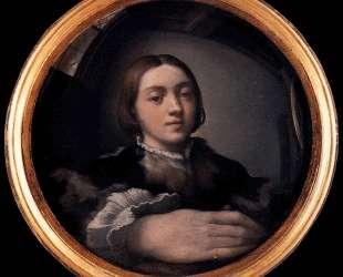 Self Portrait at the Mirror — Пармиджанино