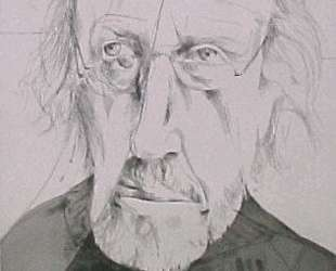 Self-portrait in a cracked mirror — Ричард Гамильтон