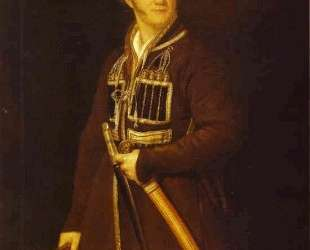 Self-portrait in a Suit of a Caucasian Warrior — Александр Орловский