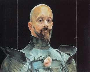 Self-portrait in Armour — Яцек Мальчевский