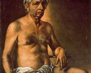 Автопортрет в обнаженном виде — Джорджо де Кирико