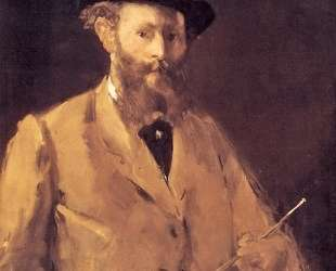 Self Portrait with a Palette — Эдуард Мане
