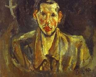 Self Portrait with Beard — Хаим Сутин