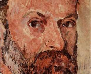 Self-portrait with white turbaned (detail) — Поль Сезанн