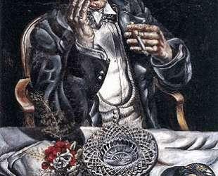 Self Portrait Smoking — Айвен Олбрайт