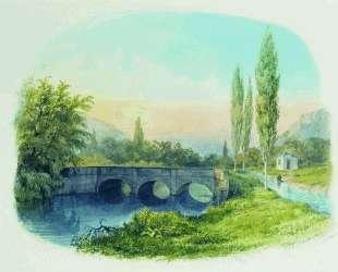 Sevastopol aqueduct in the gully Ushakovskaya — Лев Лагорио