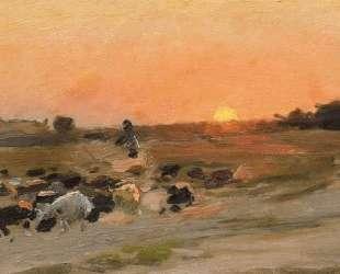 Sheperding the Flock — Николай Пимоненко