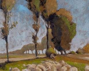 Shepherd and Sheep — Анри Эдмон Кросс