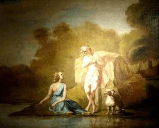 Пастухи Аркадии — Жан-Франсуа Милле